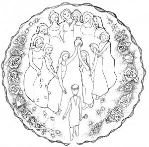 נערה מתקבלת למעגל